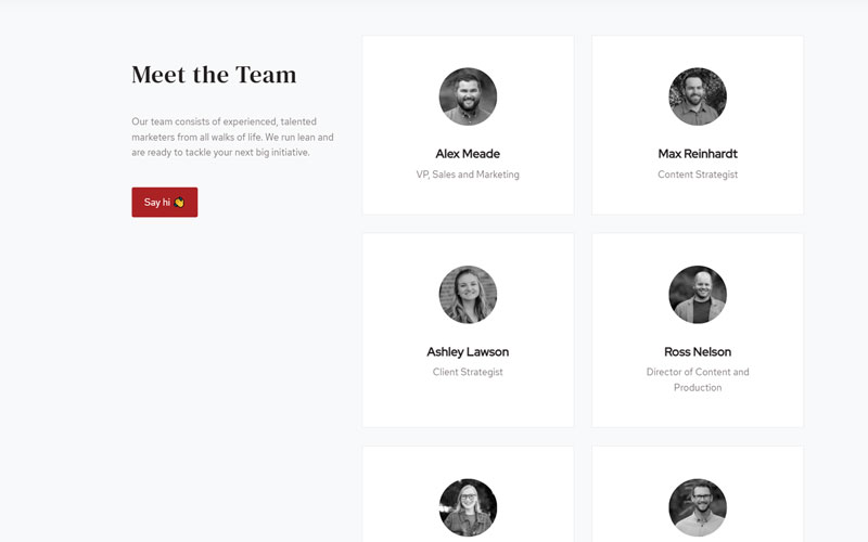 Beacons Point Team