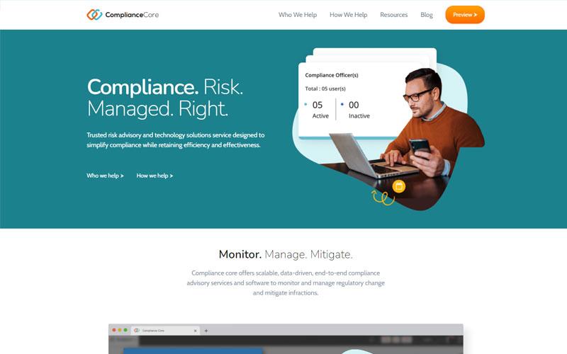 Compliance Core Home