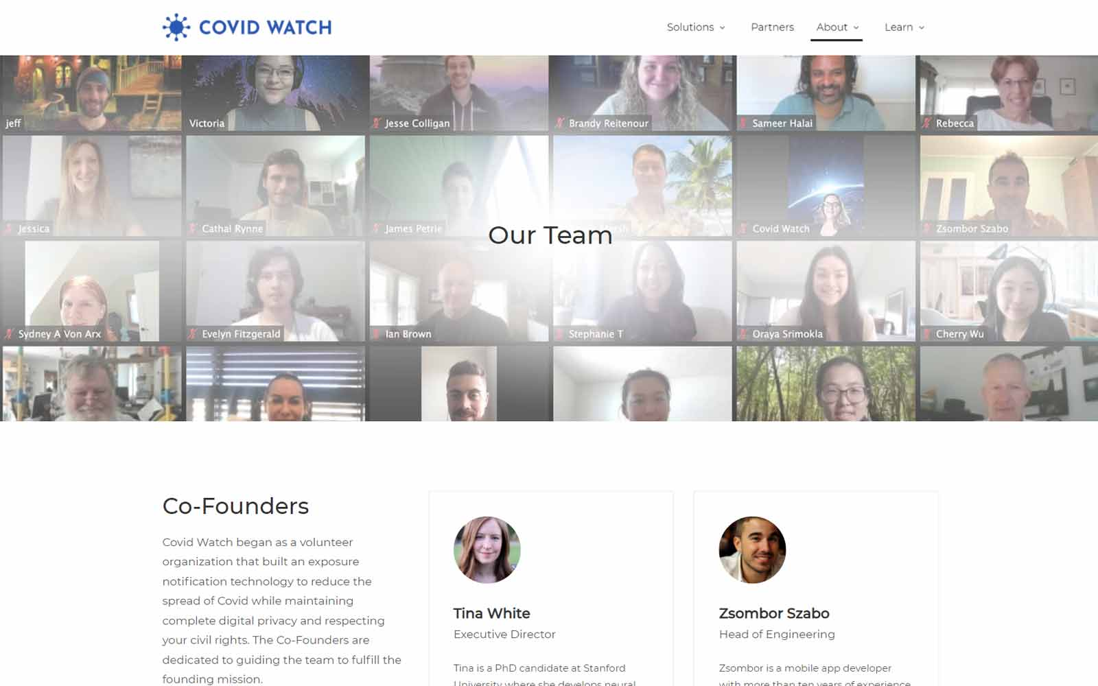 Covid Watch Team
