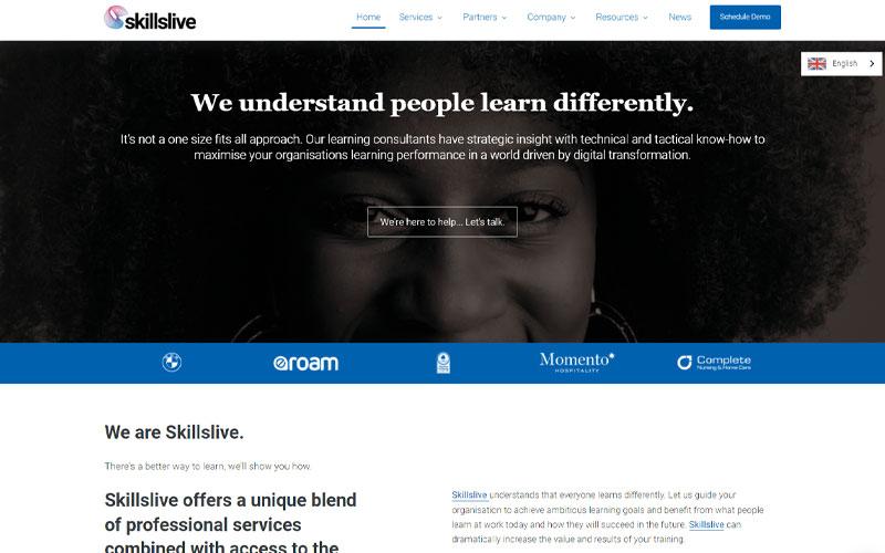 Skillslive Learn Home