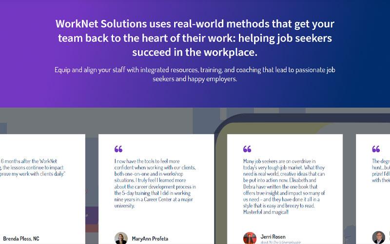 Worknet Solutions Slider